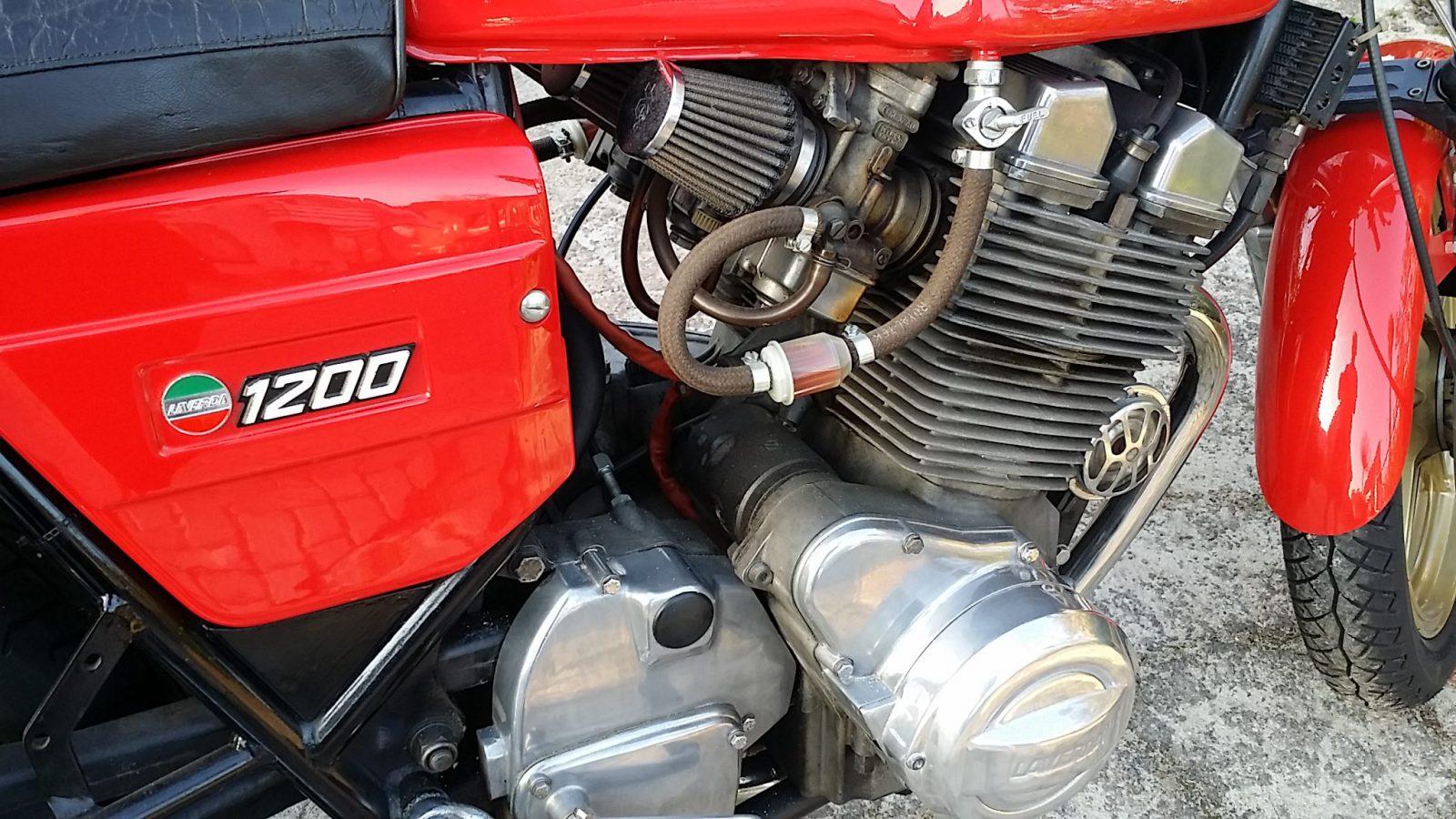 Laverda 1200 3 cilinder retro vintage