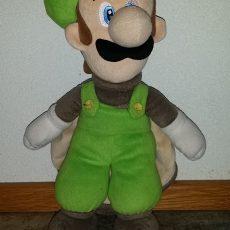 Super Mario Bros: Eekhoorn Luigi 42 cm