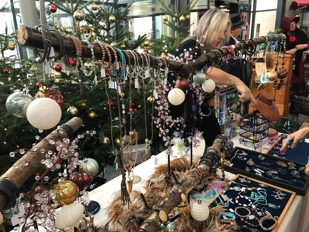 Citywall Trading op Kerstmarkt