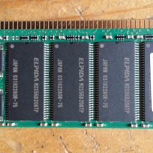Elpida 512MB 184p PC2100 CL2.5 ECC Reg DIMM - EBD51RC4AAFA-7B