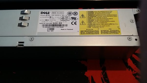 Dell DPS-500CB A 500W Switching Power Supply
