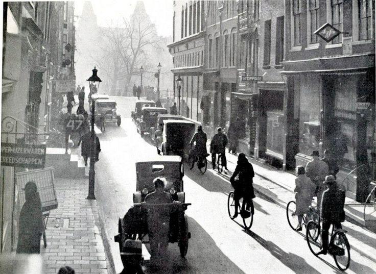 Amsterdam Spiegelstraat 1933 print