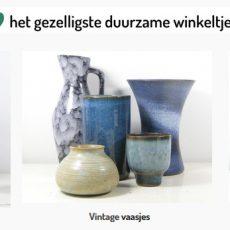 Potjes en vaasjes vintage producten