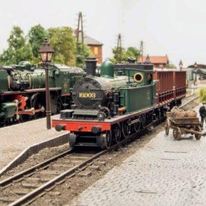 Model spoor