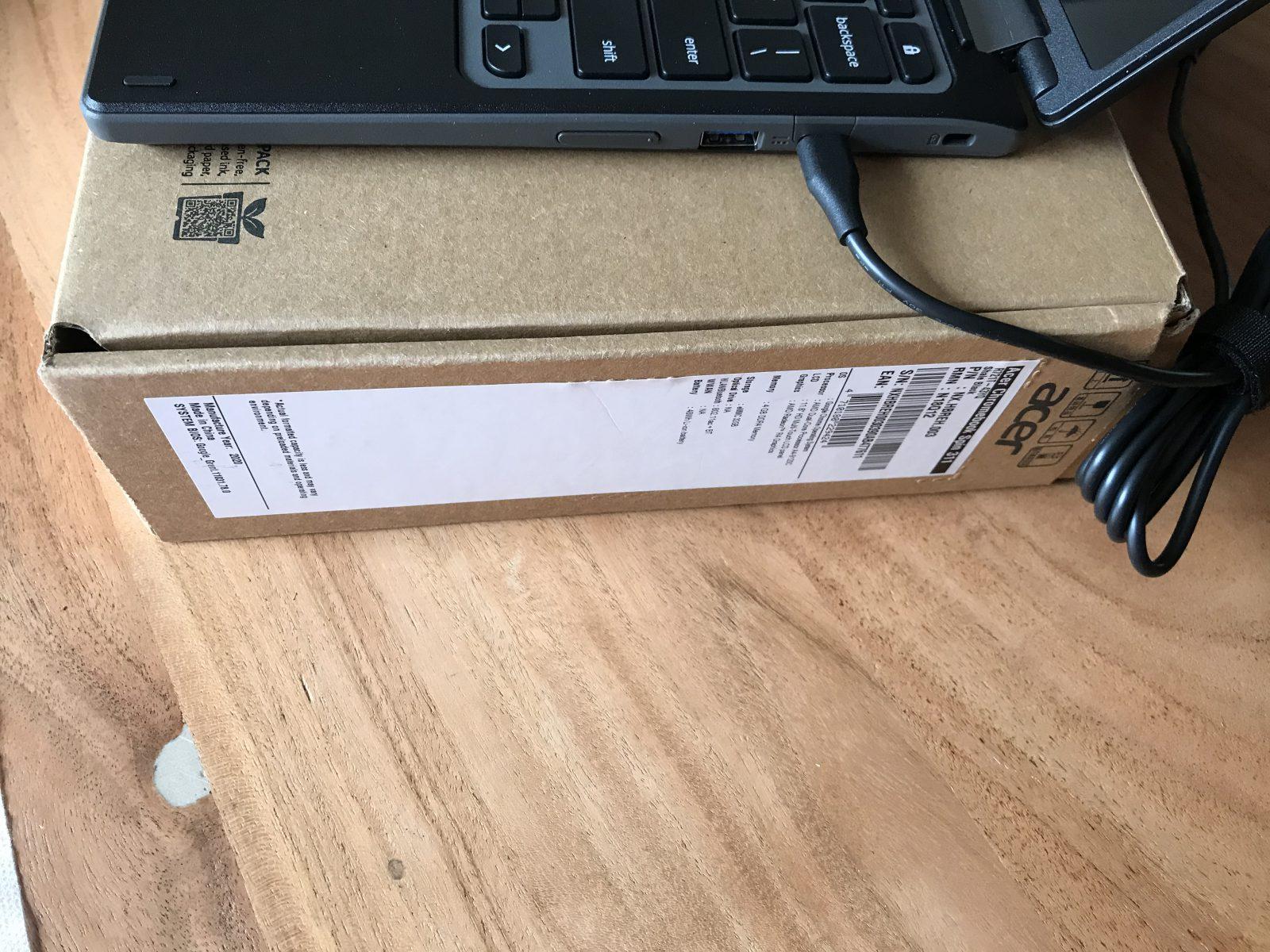 """Acer Chromebook Spin 31 (CP311-2H) 64gb 4gb ddr4 11.6"""" TOUCH Snelle en dunne Acer Chromebook Spin 311 CP311-2H-C3D64gb 4gb ddr4 11.6 inchTOUCH beeldschermnieuw in doos en garantie. Chromebook heeft een 360° flip design (360 graden kantelbaar).NIEUW IN DOOS."""